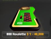 888カジノ ライブルーレット